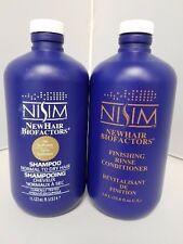 Nisim Shampoo & Conditioner for Dry Hair 33 oz w/FREE SAMPLES