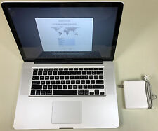 "Apple MacBook Pro 15"" A1286 3.06GHz Core 2 Duo 4GB RAM 500GB HDD 10.11 Mid 2009"