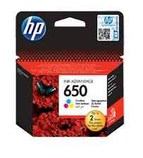 Genuine HP Ink Cartridge 650 Tri-color CZ102AE DeskJet 2545 2645 2515 Printer
