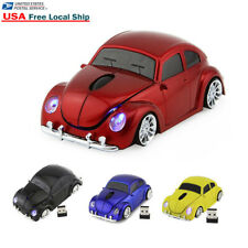 3D USB 2.4Ghz Wireless Beetle Classic car Mouse optical PC Laptop Mice +Receiver