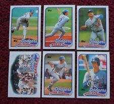 1989 Topps Los Angeles Dodgers Baseball Team Set (33 Cards) ~ Orel Hershiser ++