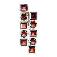 ausgezeichnete Granat 925 Sterling Silber rot Anhänger natürliche Lieferungen de