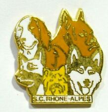 PINS CHIEN DOG HUSKY BOXER YORKSHIRE SC RHONE ALPES