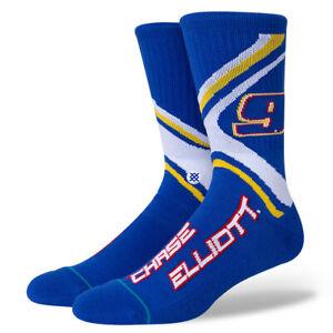Chase Elliott NASCAR #9 Stance Socks Large Men's 9-13 Racing Crew Socks