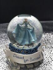 "New Disney Cinderella Snow Globe ""Dressed For Success"" Item#17889 By Westland"