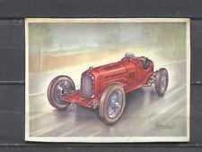 Alfa Romeo P-3 Racing Car 1934 Vintage 1950s Dutch Trading Card No.157