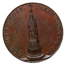 1797 Gloucester Kempson's City Series High Cross Penny Conder Token D&H-9