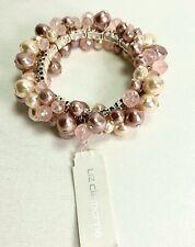 Liz Claiborne Beads & Pearls Bracelet