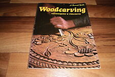 WOODCARVING -- Techniques & Projects // a Sunset Book