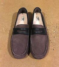 UGG Tucker Men's Size 11 Stout Loafers Slippers Comfy Driving Shoes Twin Sole