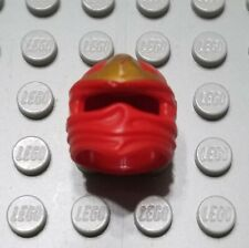 LEGO Red Ninjago Head Wrap Minifigure Piece with Gold 3 Point Emblem