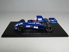 Tyrrell 007 nº3 2nd Belgium GP 1975 Jody Scheckter 1/43 Spark S1645
