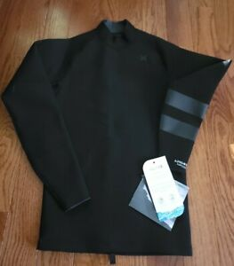 New Hurley Advantage Plus 1/1 MM Reversible Sz Small S CJ6772 $95 Black Surfing