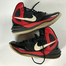 Nike Shoes Youth SZ 7.5 Prime Hype DF Basketball Black Red Boys Athletic Kids