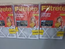 6 Pack 3M Filtrete 14x20x1 Micro Allergen Defense Air Filter, 18 month supply