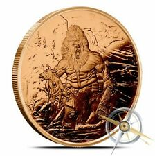 Nordic Creatures 1 oz Copper Round - Frost Giant - In Stock FREE Shipping