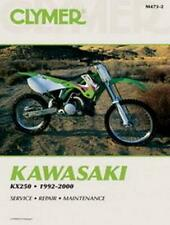 Clymer Shop Repair Manual Kawasaki Kx250 1992-2000 (Fits: Kawasaki)