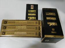 LA GUERRA DE LAS GALAXIAS STAR WARS TRILOGIA VHS THX COLECCIONISTA LUCASFILM