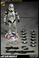 Sideshow Exclusive Clone Commander Neyo 12 Inch 1/6 Figure Militaries Star Wars