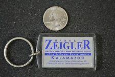 Harold Zeigler Lincoln Mercury Suzuki Mitsubishi Kalamazoo Keychain Key Ring