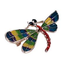 Dragonfly Lapel Pin Fashion Women Suit Brooches Scarf Shawl Accessories Bl