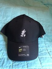 Disney Parks Exclusive- Nike DriFit Black Baseball Cap Mickey(grey) - NWT