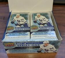 2017-18  Upper Deck Hockey Series 1 - 2 pack Lot 16 cards