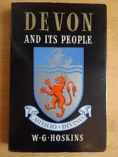 Devon and its People  By W. G. Hoskins England Südengland Geschichte