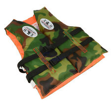 Camo Child Kids Life Jacket Swimming Buoyancy Aid Vest Fits For 4~7 Years Old