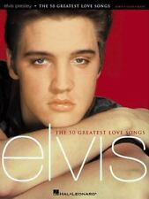 Elvis Presley - The 50 Greatest Love Songs (Piano/Vocal/Guitar Artist-ExLibrary