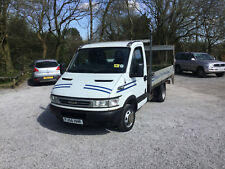 IVECO DAILY 35 C12 DROPSIDE 2.3 DIESEL PICKUP TAIL LIFT PLANT LORRY TIPPER
