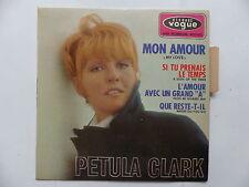 PETULA CLARK Mon amour Si tu prenais le temps .. EPL 8423