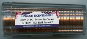 2009-D Lincoln Bicentennial Penny PCGS Authenticated and Sealed Tube