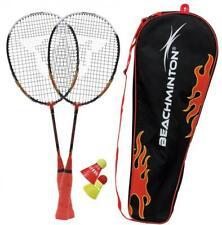Speed Badminton Beachminton Spielset Schläger Federball Ball Spiel Sport Strand