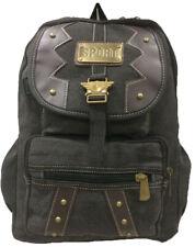 Aimerfeel large canvas denim bag stylish sports/school/camping rucksack backpack