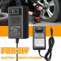21V 1.3A Electric Wrench Charger  Battery Packs Lithium Li-ion LiPo Adapter