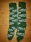 New JAMESON Irish Whiskey PROMOTIONAL SOCKS Green Dress Crew