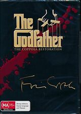 The Godfather The Coppola Restoration 3-movie DVD NEW Region 4 AL Pacino Brando