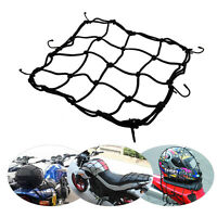 2X Motorcycle Elastic Car Cargo Tidy Net Storage Boot Net Fixing Points 30 X30cm