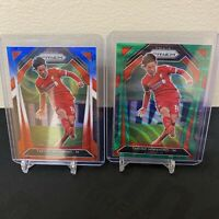 2020-2021 Premier League Prizm Takumi Minamoto Green Wave & Red White Blue Wave