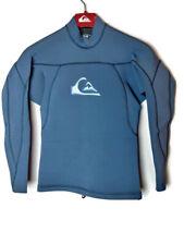 Quiksilver 2MM FNLite Neoprene Men's Size XS Blue Long Sleeve Wetsuit Top