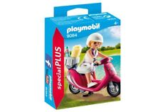 YRTS 9084 Playmobil - Mujer con Scooter Special Plus ¡Nuevo en Caja! ¡New!