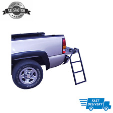 NEW Truck 5-100 Tailgate Ladder, Bed Tail Gate Ladder, Easy Setup Universal Fit