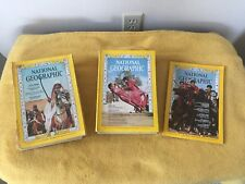 Lot of 21 Vintage 1966 1967 1968- NATIONAL GEOGRAPHIC MAGAZINES