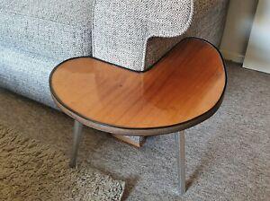RARE mid century 1960s tripod retro unique side table vintage.