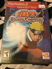 Naruto: Uzumaki Chronicles Sony PlayStation 2 PS2 Brand New Factory Sealed
