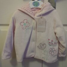 M&S (Petit Bebe) Pink Coat With Hood - 9-12 Months