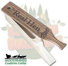 Woodhaven Real Hen Poplar Box Custom Turkey Call WH046 - FREE Ship