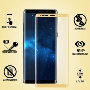 3D Curved Full Coverage Screen Protector Tempered Glass For Samsung Galaxy S8