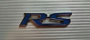 RS Ford Focus  Escort Sierra Cosworth 500 Front Grill Badge Blue